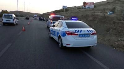 Yozgat'ta trafik kazası 4 yaralı