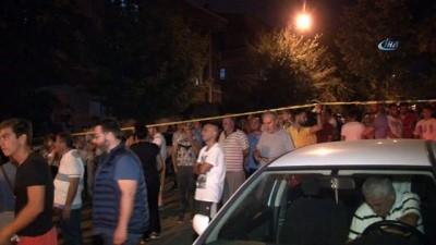 yangin yeri -  Başkent'te mahalleyi ayağa kaldıran yangın