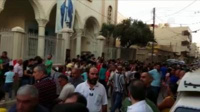 ozel okullar - Suriyeli Hristiyanlar, YPG/PKK'nın okullarını kapatmasını protesto etti - HASEKE