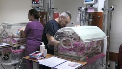 565 gram doğan Şenay bebek yaşama tutundu - AYDIN
