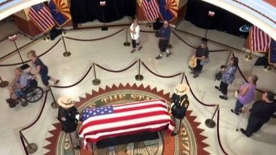 - ABD'li Senatör McCain İçin Cenaze Töreni