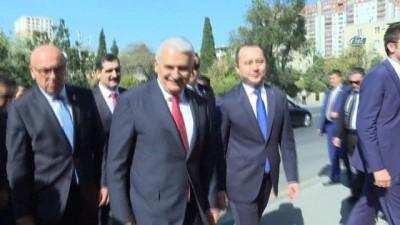 """- Binali Yıldırım'ın Azerbaycan Temasları - Meclis Başkanı Binali Yıldırım: - """"azerbaycan'la İlişkilerimiz Mükemmel"""""""