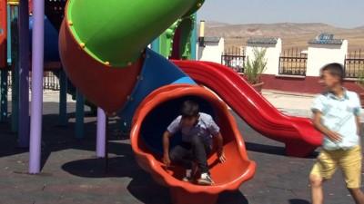 Şehit bebeğin adı çocuk parkında yaşatılıyor