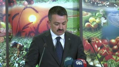 Tarım ve Orman Bakanı Pakdemirli: 'Şarbonlu hayvanlar hiçbir şekilde piyasaya verilmedi' - ANKARA