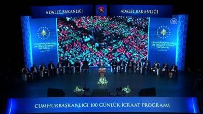 Cumhurbaşkanı Erdoğan: 'Yargıda hedef süre uygulamasına geçiyoruz' - ANKARA