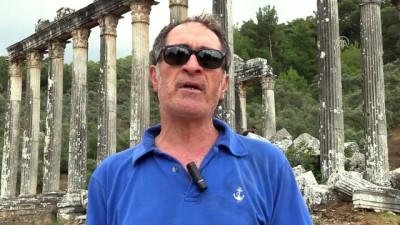 Euromos'ta Roma ve Helenistik döneme ait mezarlar bulundu - MUĞLA