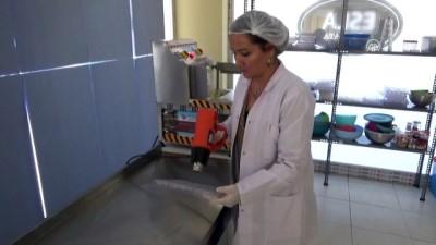 Evde başladığı çikolata üretimini imalathaneye taşıdı - AKSARAY