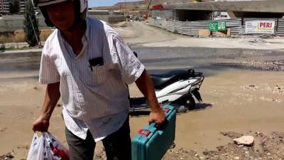 Su borusu patladı - ŞANLIURFA