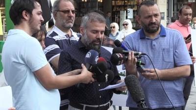 Suriye'de cezaevlerindeki uygulamalara tepki - İSTANBUL