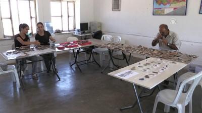 arkeolojik kazi - Domuztepe'de 8 bin yıllık traş bıçağı ve kirmen bulundu - KAHRAMANMARAŞ
