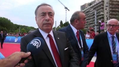 Galatasaray Kulübü Başkanı Mustafa Cengiz Anadolu Ajansı'na konuştu - MONACO