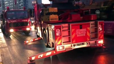 Şişli'de yangın - İSTANBUL