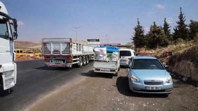 Suriyelilerin ülkelerini geriye dönüşleri sürüyor - HATAY