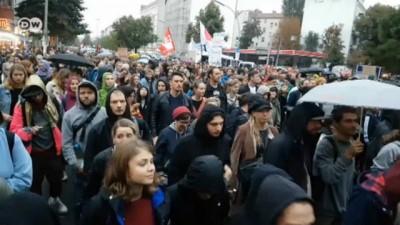 Berlin'de ırkçılığa karşı protesto yürüyüşü
