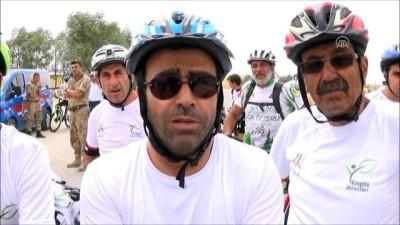 '1. Ulusal Van Denizini Pedallıyoruz' bisiklet etkinliği başladı - BİTLİS