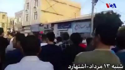 İran'da Zam Protestoları Sürüyor