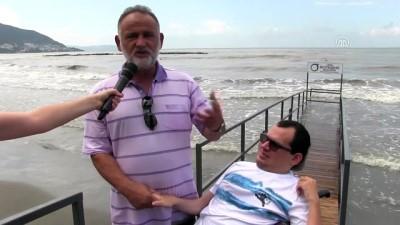Engelliler deniz keyfini doyasıya yaşayacak - ORDU