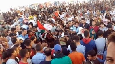 - Filistinli Gençler Gazze Sınırında Nişanlandı - Gazze Sınırında Tanışan Filistinli İki Genç Evlenme Kararı Aldı