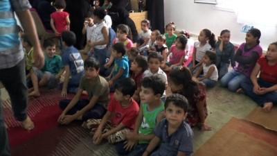 Gaziantep İmkander'den Suriyeli yetim çocuklara giyim yardımı