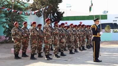 - ÖSO'ya ait El Hamza Askeri Fakültesi'nin mezuniyet töreninde saldırı