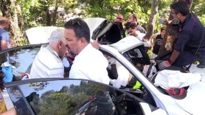 Sağlık personeli kazada yaralandı - KARABÜK