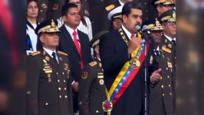 Venezuela Devlet Başkanı Maduro'ya bombalı saldırı - CARACAS