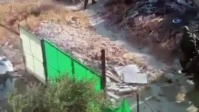 - İsrail askerlerinden insanlık dışı gözaltı - İsrail askerleri yaşlı bir adamı evinde zorla alıkoydu