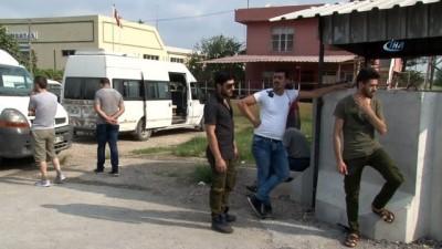 Kaçak göçmen sanıldılar Suriyeli işçi çıktı