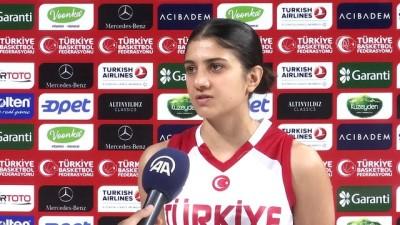 Kadın milli basketbolcularda hedef madalya - İSTANBUL
