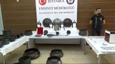 Tarihi eser operasyonu - İSTANBUL