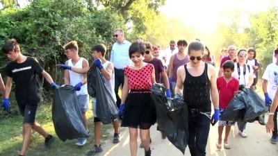 Aydilge Karacabey Longozu'nda çöp topladı - BURSA