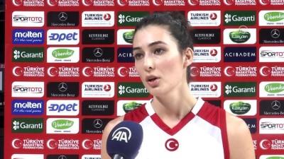 Kadın milli basketbolcular madalyaya odaklandı - İSTANBUL