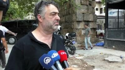 korkuluk -  Tarihi surlar can aldı...Kale surlarından beton zemine düşen şahıs hayatını kaybetti