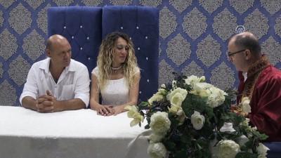 Evlenmek için '08.08.2018'i seçtiler - KIRKLARELİ/TEKİRDAĞ
