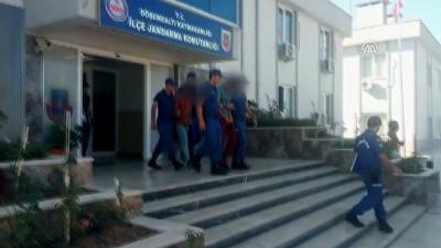 akaryakit istasyonu - Antalya'daki silahlı soygun - 3 zanlı tutuklandı
