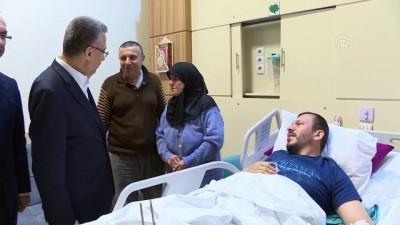Cumhurbaşkanı Yardımcısı Oktay, yaralanan vatandaşları ziyaret etti - ORDU