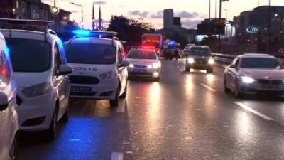 E-5'te zincirleme kazada 6 araç birbirine girdi: 1 ölü, 1 yaralı