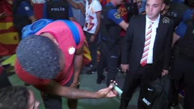 Galatasaray kafilesi, başkentte - ANKARA