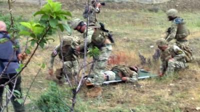 - Gürcistan'da Türkiye'nin De Katıldığı Askeri Tatbikat Sürüyor