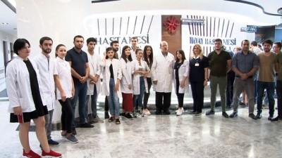 ozel hastaneler -  Gürcistanlı tıp öğrencileri, staj için geldikleri Hayat Hastanesi'ne hayran kaldı