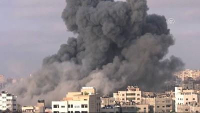 hava saldirisi - İsrail'den Gazze'ye hava saldırısı (2) - GAZZE