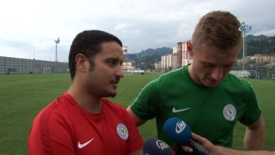Jakub Brabec: 'Bir an önce lige başlamak istiyoruz'