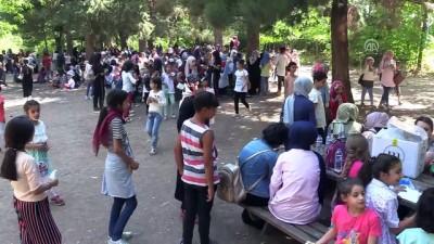 bulduk - Kur'an kursu öğrencileri piknikte buluştu - DİYARBAKIR