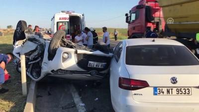 Trafik kazası: 1 ölü, 4 yaralı - TEKİRDAĞ