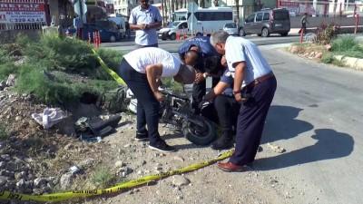 Tren elektrikli bisiklete çarptı: 1 ölü, 1 yaralı - MERSİN
