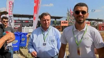 Kenan Sofuoğlu, Dünya Motokros Şampiyonası için Afyon'a geldi