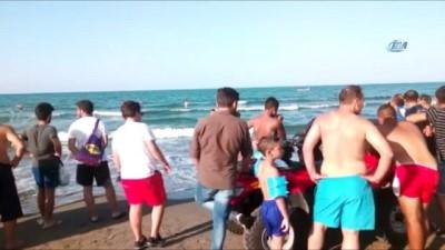 Samsun'da denize giren 4 arkadaş boğulma tehlikesi geçirdi