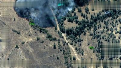 TSK, Kuzey Irak'ın Zap bölgesine düzenlenen hava harekatının görüntülerini paylaştı