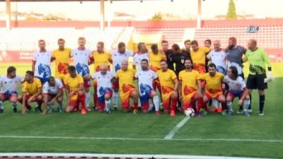 Türk futbolunun yıldızları Çanakkale'de