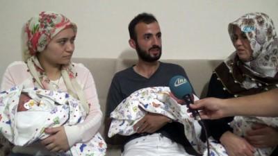 Biberonlara numara vererek tanıyorlar... Ordulu çiftin 4 yıl sonra üçüz bebek sevinci
